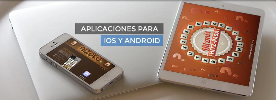 Aplicaciones para iOS y Android